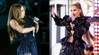 Shakira y Jennifer Lopez / Gtres
