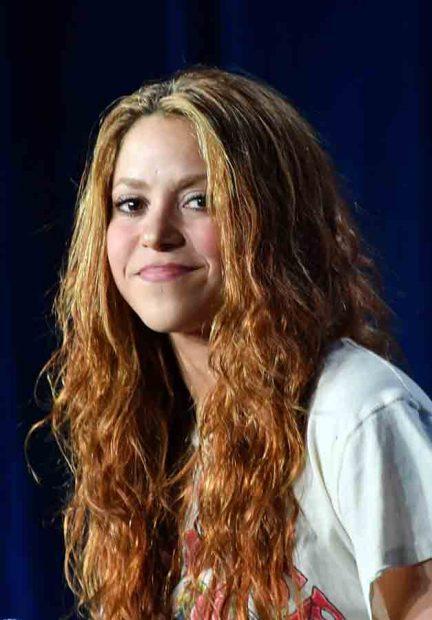 Shakira durante la rueda de prensa previa al partido de la 'Superbowl' / GTRES