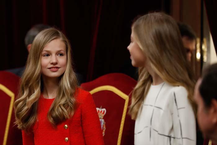 infanta Sofía, princesa Leonor