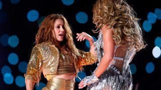 Shakira y Jennifer Lopez en la Super Bowl 2020 / Gtres