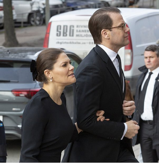 La princesa Victoria de Suecia y el príncipe Daniel