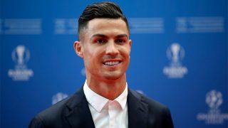 Cristiano Ronaldo en una ceremonia de la Champions / Gtres