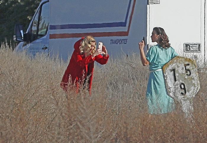'Las chicas del cable' durante el rodaje de la última temporada / GTRES