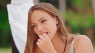 Katerina de 'La isla de las tentaciones', en un fotograma del 'reality'/ Telecinco