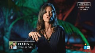Fiama, profundamente decepcionada con Alex./Mediaset