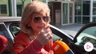 María Teresa Campos en un video de Gtres / Gtres