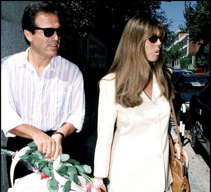 Pepe Navarro y Eva Zaldívar en una imagen de archivo / GTRES