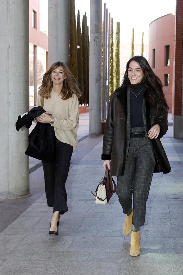 Eva Zaldívar con Andrea Navarro / GTRES