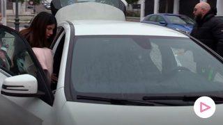 Isa Pantoja y Kiko Rivera saliendo de casa de Irene Rosales/Gtres