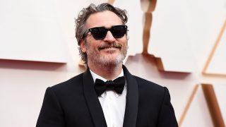 El actor Joaquin Phoenix en los Premios Oscar 2020. / Gtres