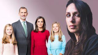 Estela de Castro con la Familia Real en un fotomontaje de Look / Gtres