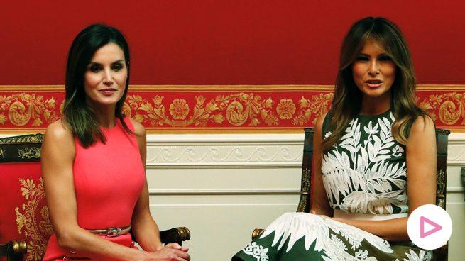 Melania Trump y Letizia Ortiz