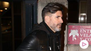 Toño Sanchís ha acudido a despedirse de Fran Álvarez / GTRES