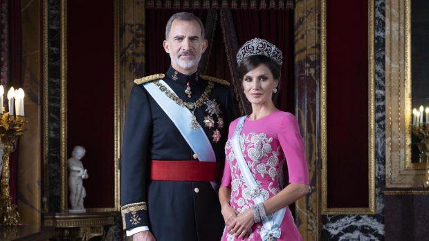 rey Felipe, reina Letizia,