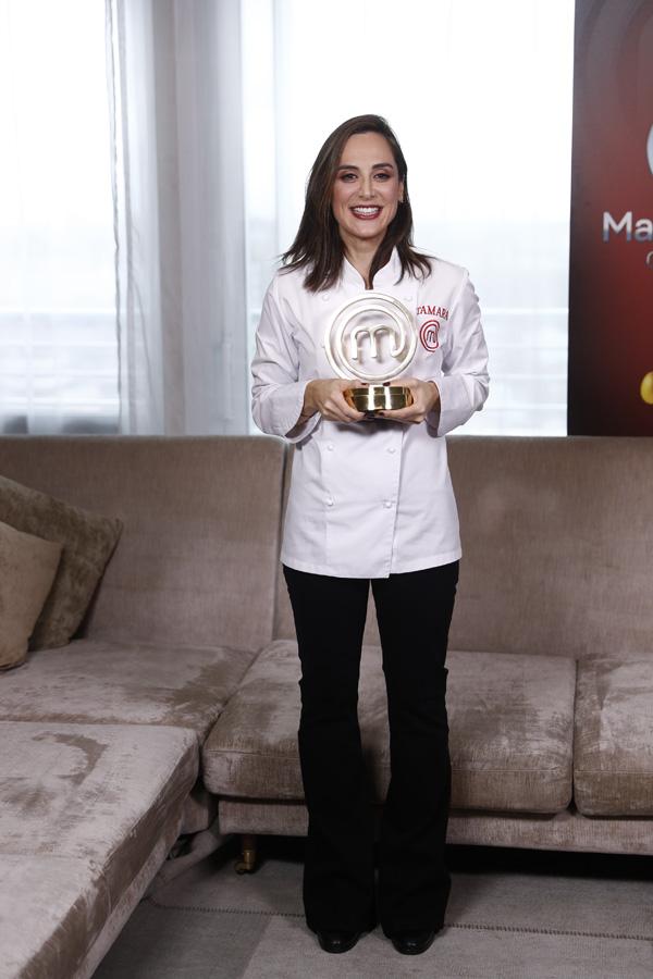 Tamara Falcó ha sido la triunfal ganadora de la cuarta edición de 'MasterChef Celebrity' / GTRES