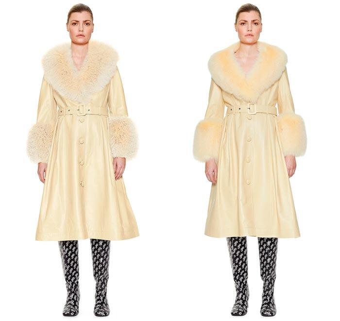 Irina Shayk abrigo piel Rosalía