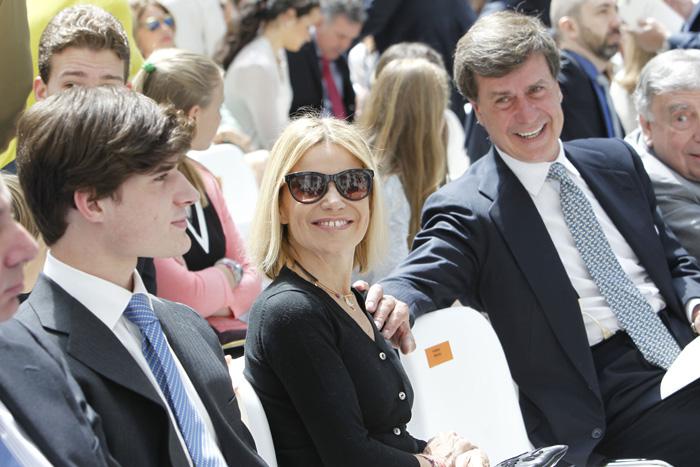 Cayetano Martínez de Irujo junto a su hermana Eugenia en una de sus últimas imágenes juntos / GTRES