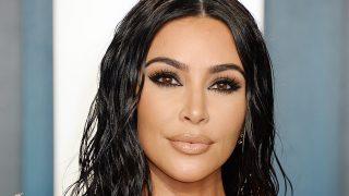 Kim Kardashian en la fiesta de Vanity Fair de los Oscars 2020 / Gtres