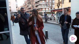 Amina Martínez de Irujo visita a su padre en el hospital/Gtres