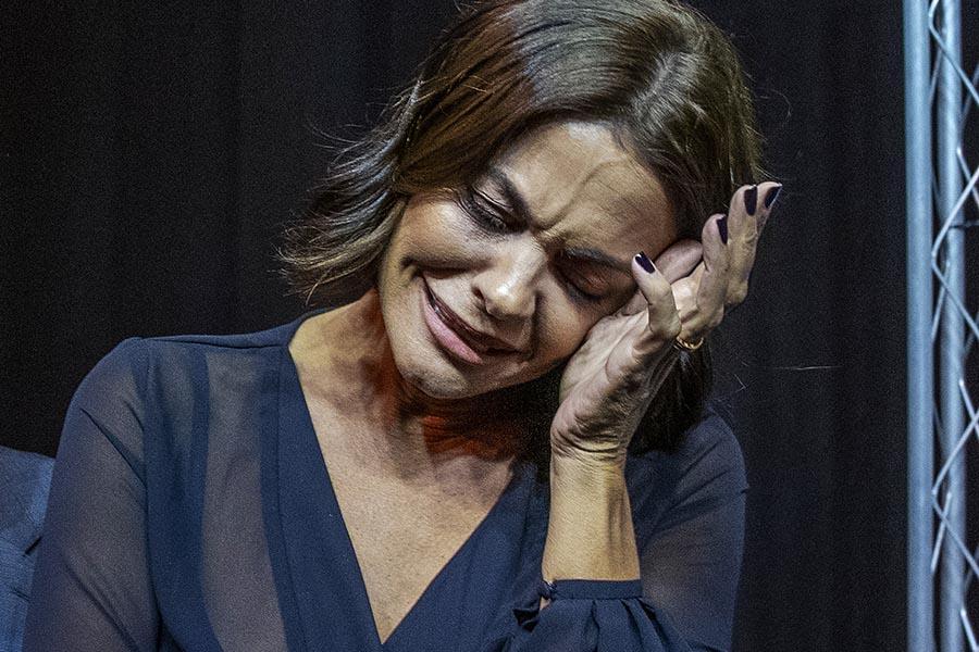 María José Suárez rota de dolor al hablar de la muerte de Miguel Ángel Jiménez / GTRES