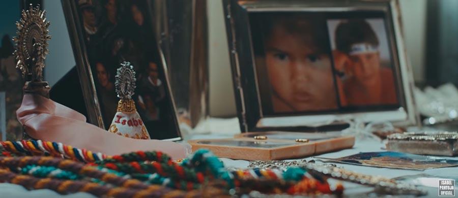Isabel Pantoja en un frame de su videoclip / YOUTUBE