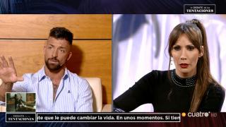 Fani y Rubén: ella a 'Supervivientes' y él a 'MyHyV'./Mediaset