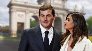 Iker Casillas y Sara Carbonero en un fotomontaje de Look / Gtres