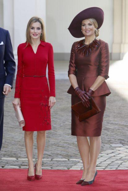Letizia y Máxima de Holanda, ¿unidas por la rafia?