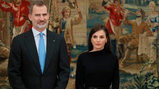 Felipe y Letizia durante los Premios Nacionales de Investigación / Gtres