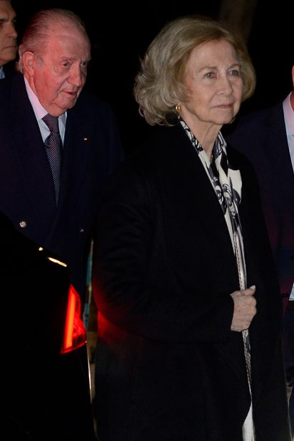 rey Juan Carlos, reina Sofía