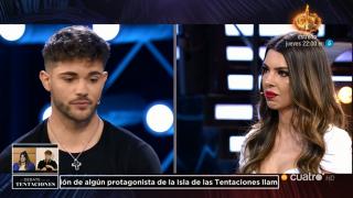 Ismael y Andrea se han enfrentado duramente./Mediaset