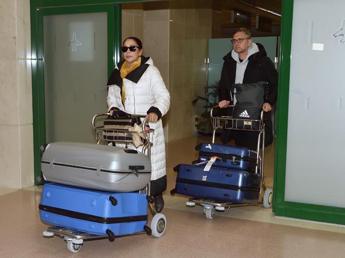 Isabel Pantoja lleva varias semanas viajando mucho a Madrid / GTRES