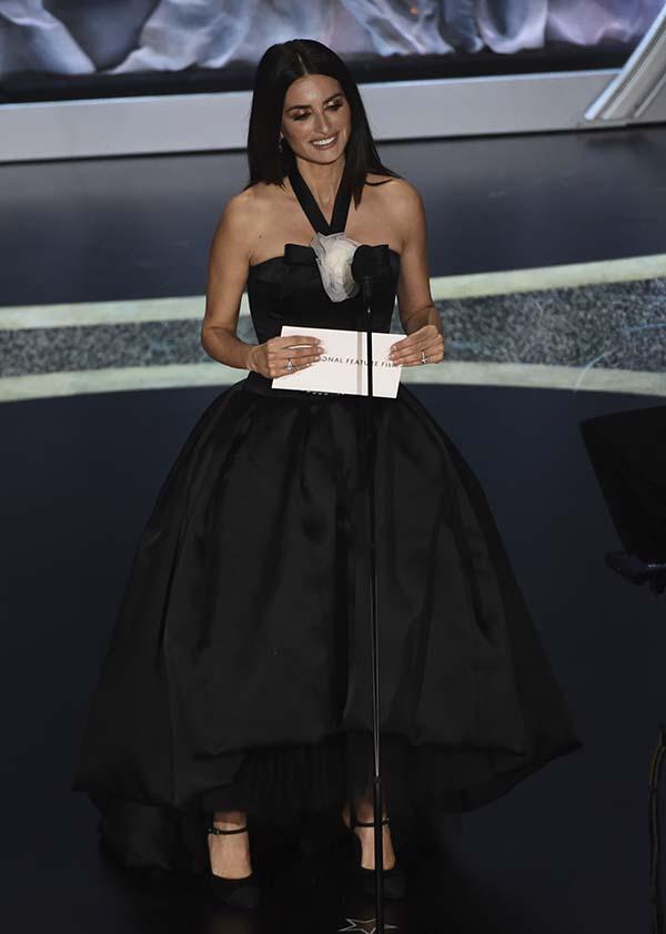Penélope Cruz durante los Premios Oscar / GTRES