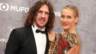 Carles Puyol y Vanesa Lorenzo en los Premios Laureus 2020. / Gtres