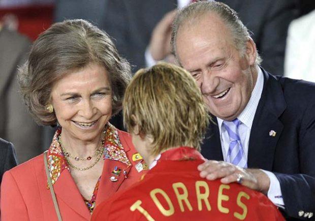 rey Juan Carlos y la reina Sofía
