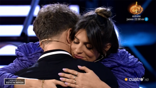 Gonzalo Montoya se mostró muy tocado al verse con Susana./Mediaset