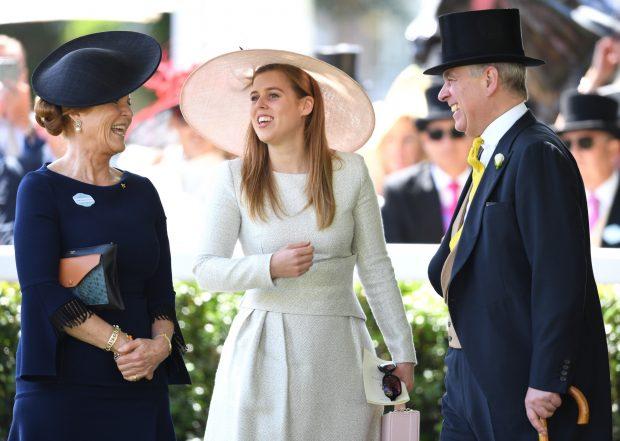 Sarah Ferguson, 'abuela' por sorpresa en el cumpleaños del príncipe Andrés