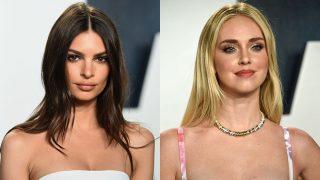 La modelo Emily Ratajkowski y la empresaria Chiara Ferragni. / Gtres