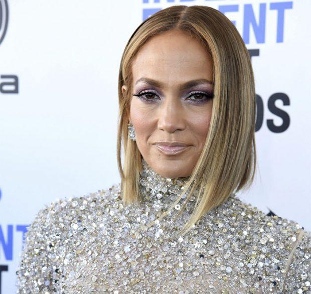 Jennifer Lopez en la alfombra de los Premios Independent Spirit el pasado 8 de febrero en Santa Mónica (California)