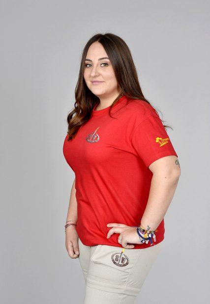 Rocio Flores Carrasco durante su promoción para el concurso 'Supervivientes' / GTres