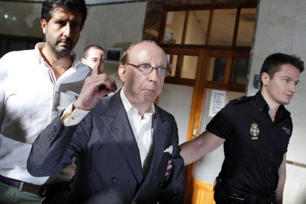 El empresario José María Ruiz-Mateos asistiendo a un juicio en Mallorca/Gtres