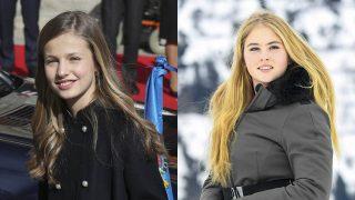 Leonor de Borbón y Amalia de Holanda / Gtres