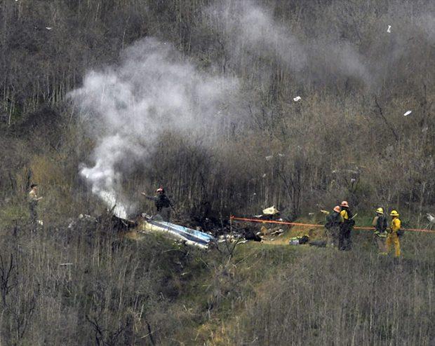 Accidente del helicóptero en el que viajaban Kobe Bryant y su hija Gianna. Imagen de archivo / GTres