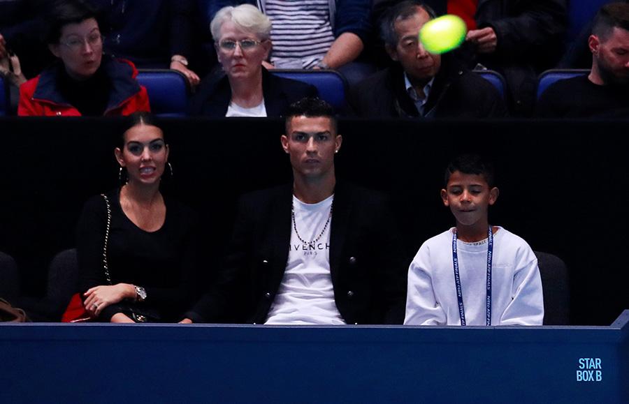 Cristiano Ronaldo junto a Georgina Rodríguez y su hijo, Cristiano Ronaldo Junior / GTRES