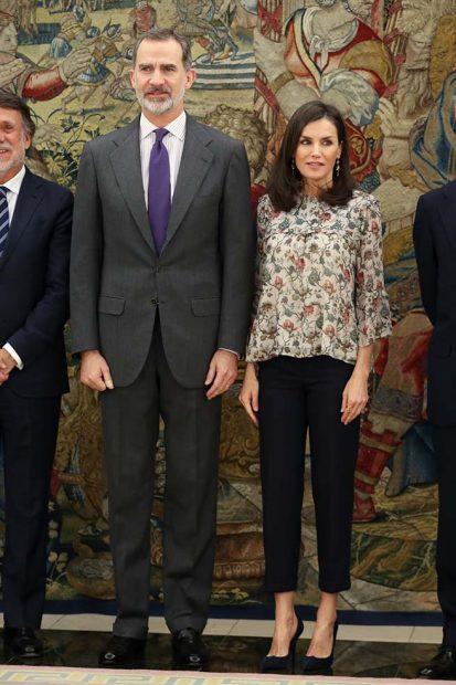 Reina Letizia y Felipe VI