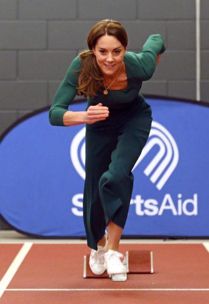 Kate Middleton, una princesa en forma y fiel a Zara
