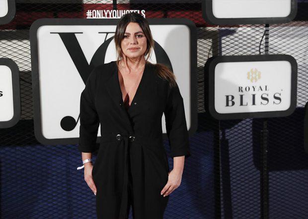 Marisa Jara en la Cibeles Fashion Week de Madrid en 2019 / GTres