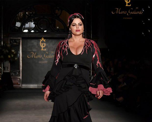 Marisa Jara en un evento de flamenco en Sevilla en enero de 2020 / GTres