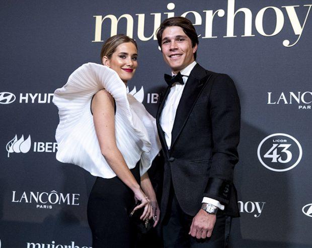 María Pombo y Pablo Castellano en la XI edición de los Premios MujerHoy