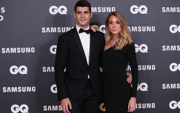 Álvaro Morata y Alice Campello siempre intentan acudir los dos juntos a todos los eventos que tienen / GTres